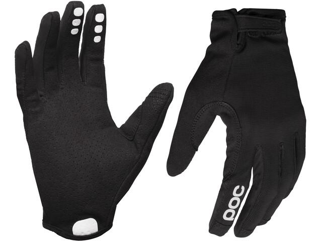 POC Resistance Enduro Gloves Adjustable uranium black/uranium black